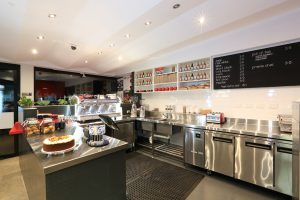 cafe interior design & fit out by Bellfort creates the ideal coffee shop design and layout
