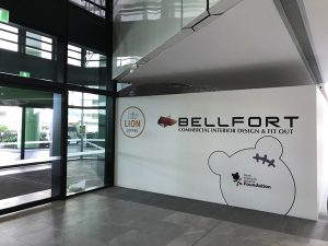 Bellfort commercial interior design and fitout