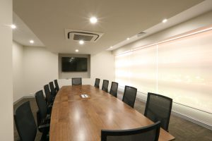 boardroom built for Catholic Homes by Bellfort